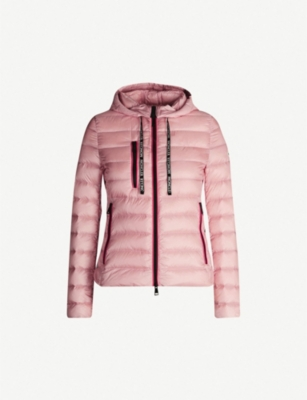 MONCLER Seoul padded down-blend shell hooded jacket