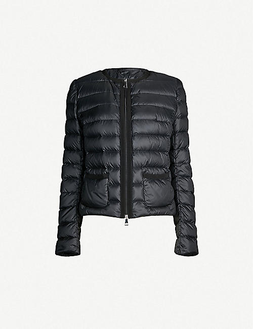 5b816d2b2ff MONCLER Christallette quilted shell coat