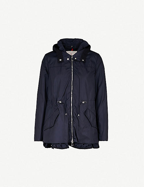 MONCLER Lotus hooded shell jacket 540d4535d61
