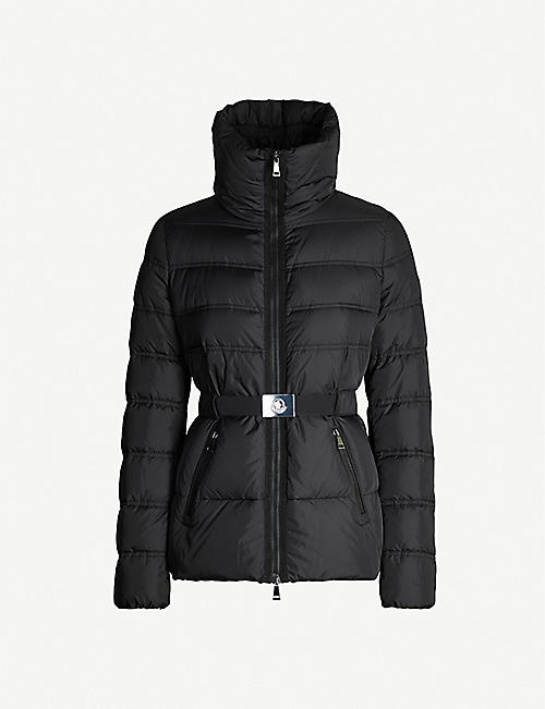 94fbc289411 MONCLER Alouette high-neck padded shell jacket