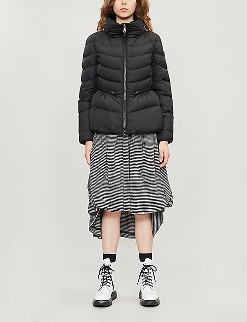 MONCLER Miriel high-neck padded shell jacket