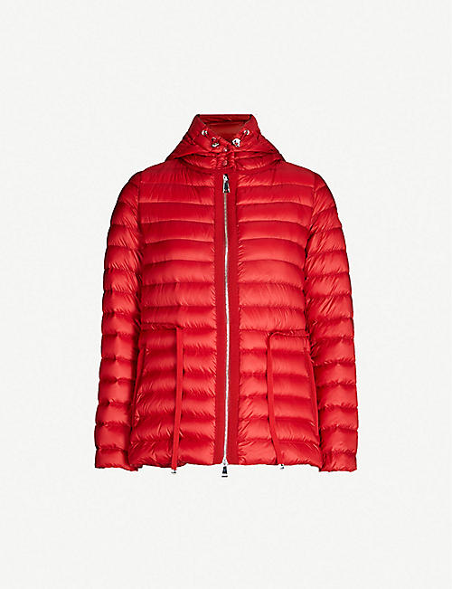c44f2c935761 MONCLER Raie hooded quilted coat