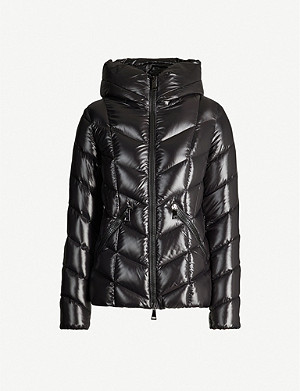 MONCLER Fulig fitted padded shell jacket