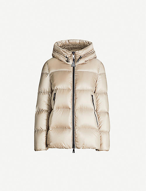 MONCLER Hooded padded shell jacket
