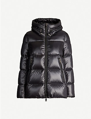 MONCLER: Seritte hooded padded shell jacket