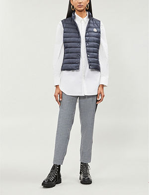 d8d28c298 MONCLER - Bruche shell and down-blend jacket