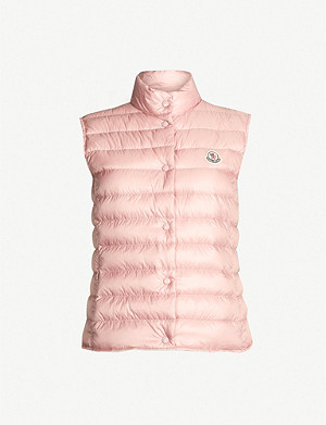 MONCLER Liane quilted shell-down gilet