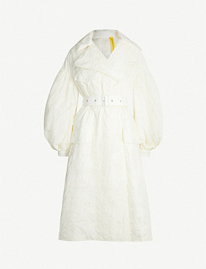 MONCLER GENIUS 4 Moncler Simone Rocha Dinah embroidered shell-down jacket