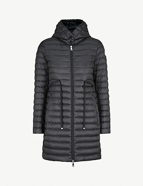 MONCLER Barbel hooded quilted shell coat 149e17824