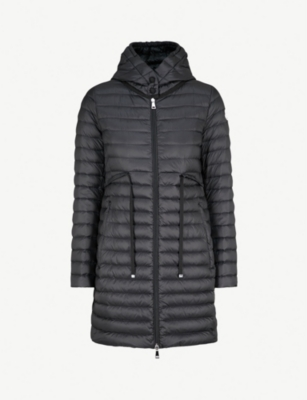 MONCLER Barbel hooded quilted shell coat