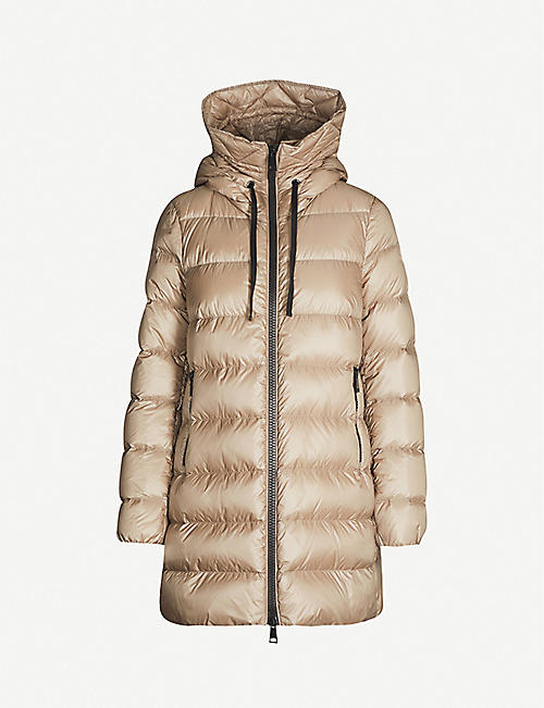 MONCLER Suyen padded shell-down coat