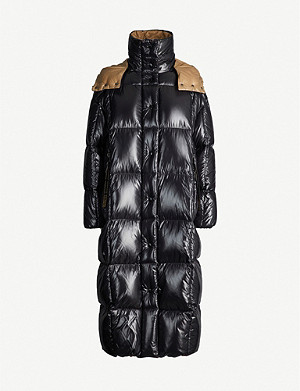 MONCLER Parnaiba hooded nylon coat