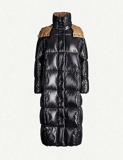 b2689050 MONCLER Parnaiba hooded nylon coat