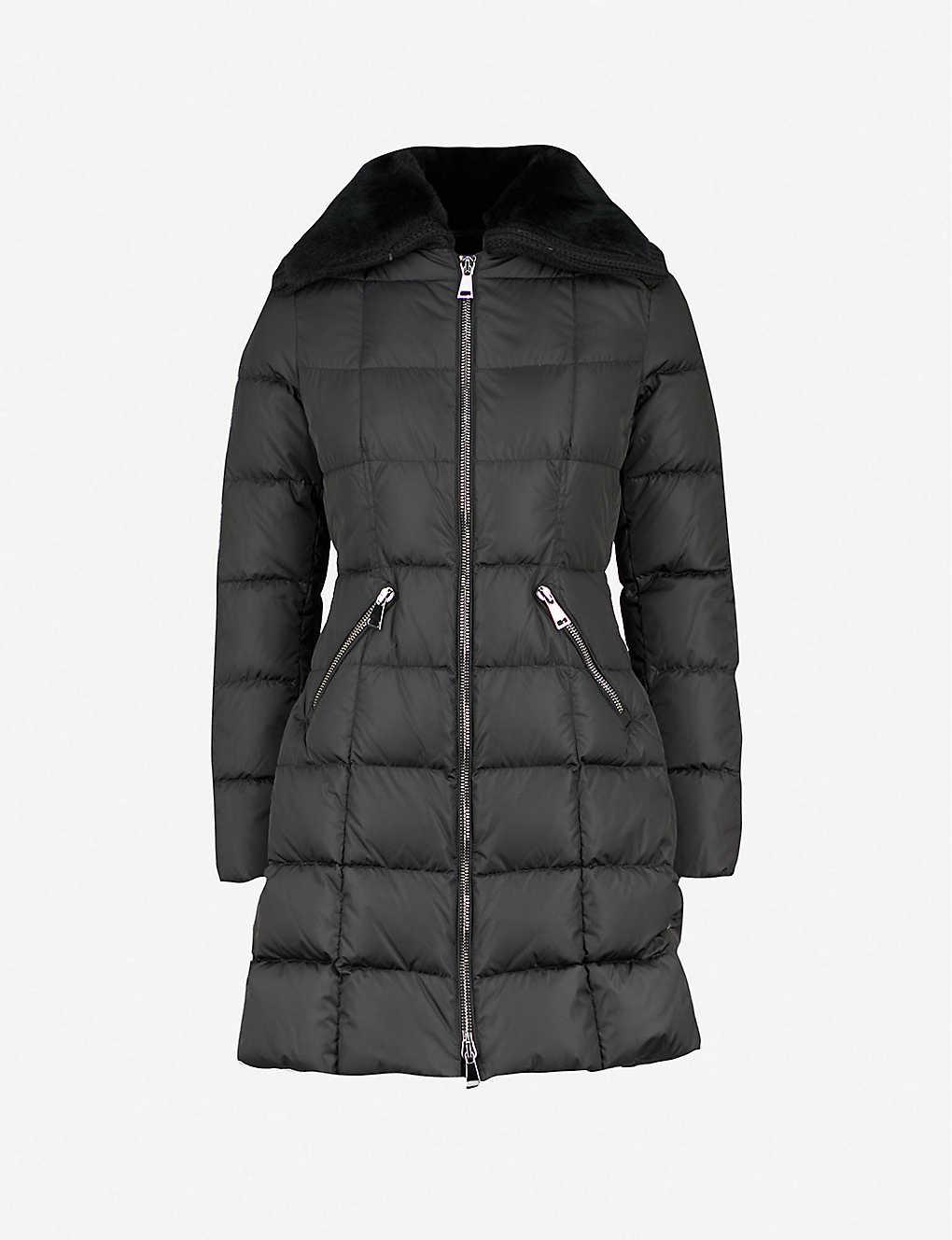 00170deb8 MONCLER - Davidia shearling-collar shell-down jacket | Selfridges.com
