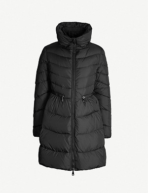 MONCLER High-neck padded shell jacket