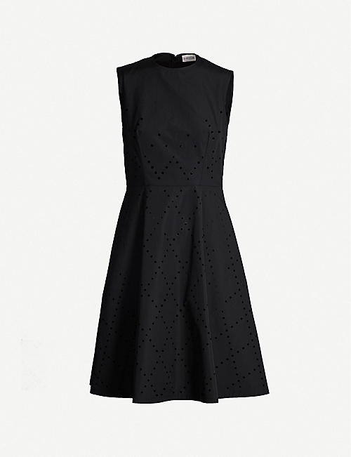MONCLER GENIUS x Noir Kei Ninomiya perforated shell dress
