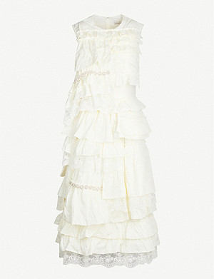 MONCLER GENIUS 4 Moncler Simone Rocha ruffled shell dress