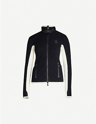 MONCLER: Grenoble Maglia stretch-fleece jacket