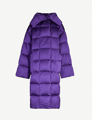 DRIES VAN NOTEN Oversized quilted and padded shell-down coat