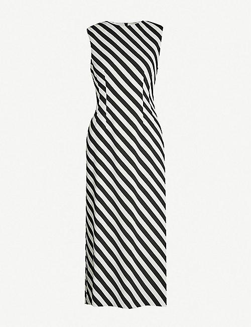 46aa8505232 DRIES VAN NOTEN Dilavina striped woven dress