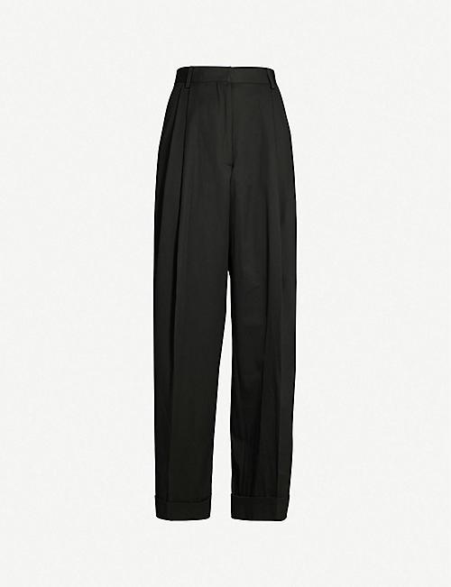 fc8b0926b1 DRIES VAN NOTEN Wide-leg cotton trousers