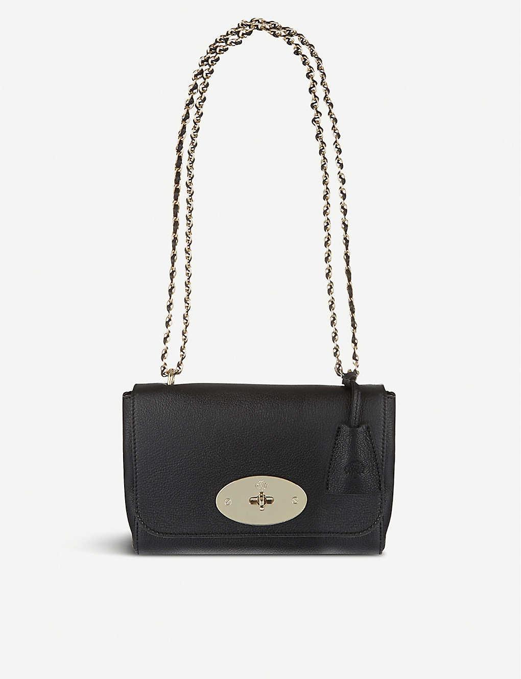 1493ab7560 MULBERRY - Lily leather shoulder bag   Selfridges.com