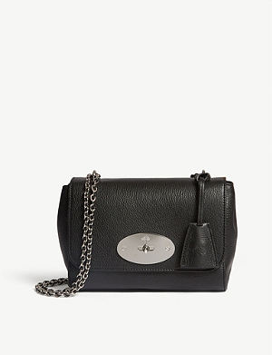 339b9377ed24 MULBERRY - Bayswater micro metallic leather bag