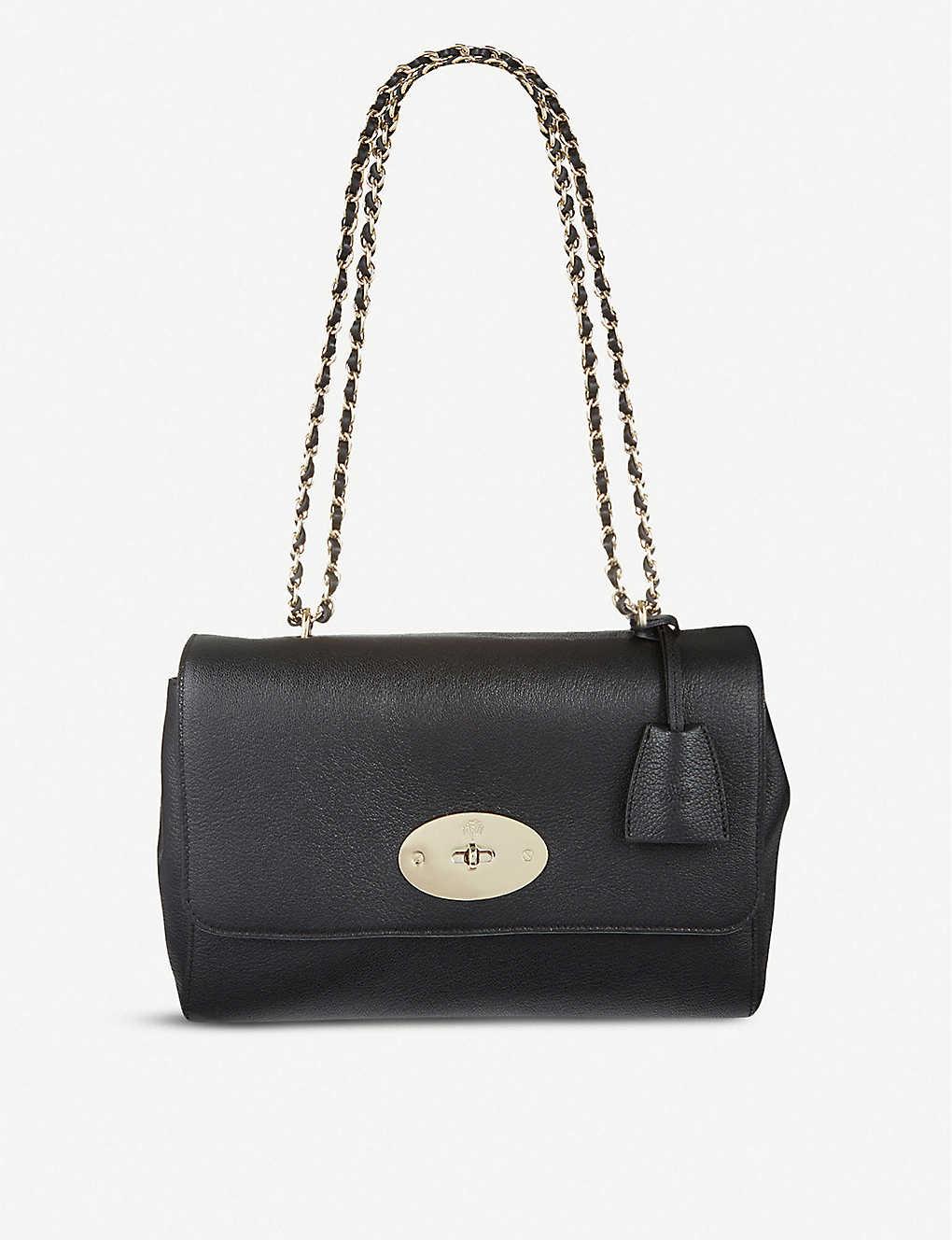 aa4c189b55283 MULBERRY - Lily medium leather shoulder bag | Selfridges.com