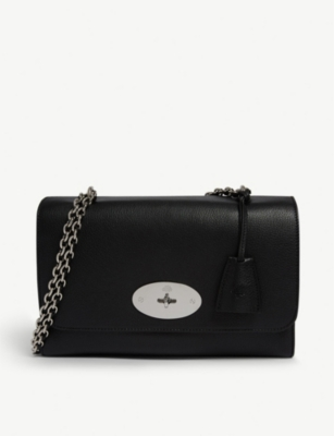 MULBERRY Lily grained-leather medium shoulder bag