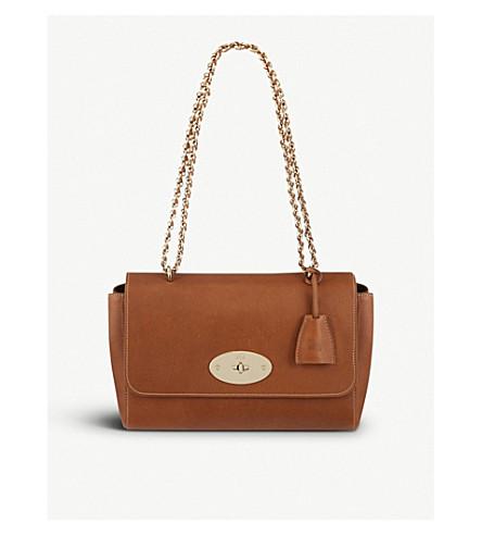 ... MULBERRY Lily medium leather shoulder bag (Oak-soft+gold. PreviousNext 45576a03bbac8