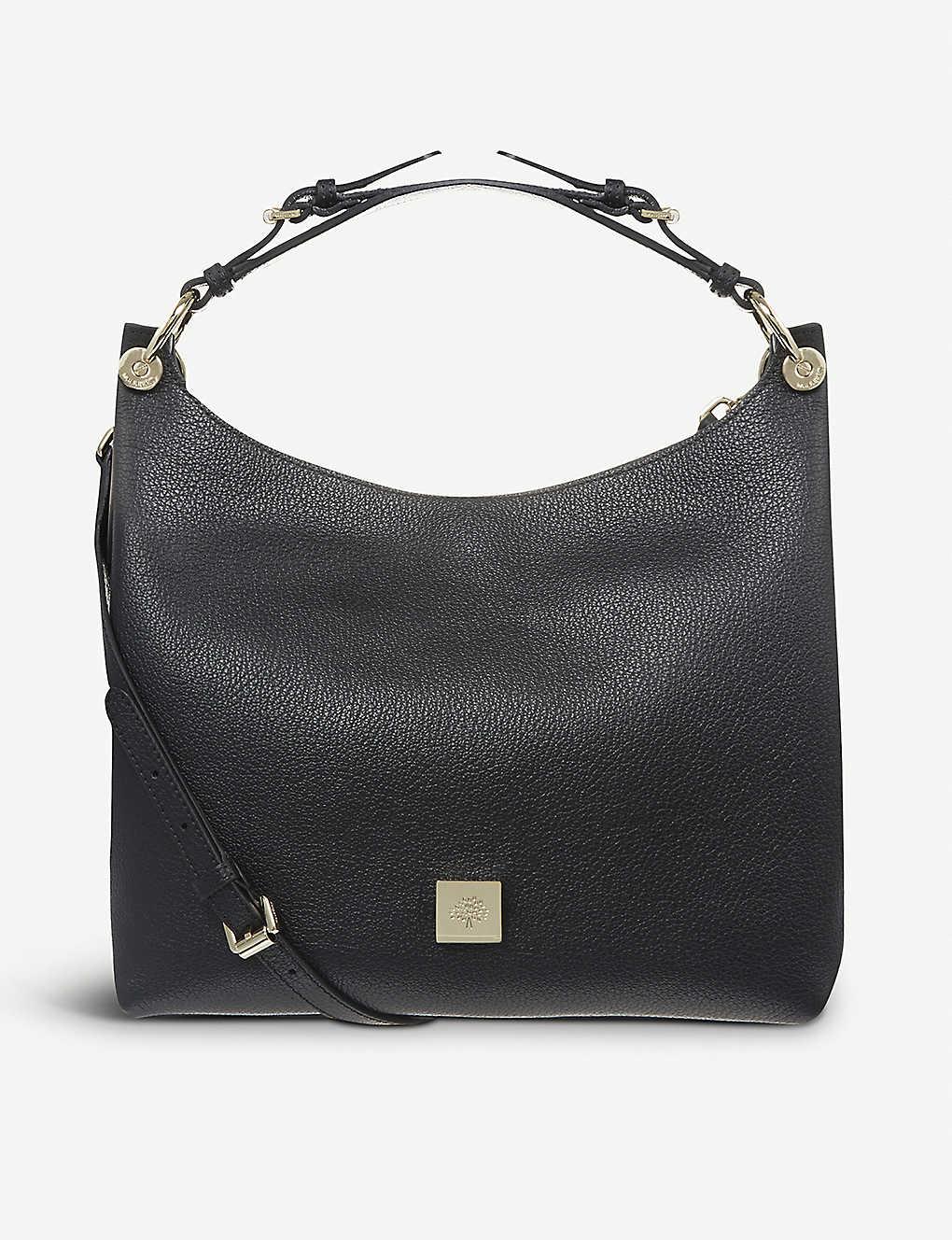cf6cdc80846 ... Freya small leather hobo bag zoom ...