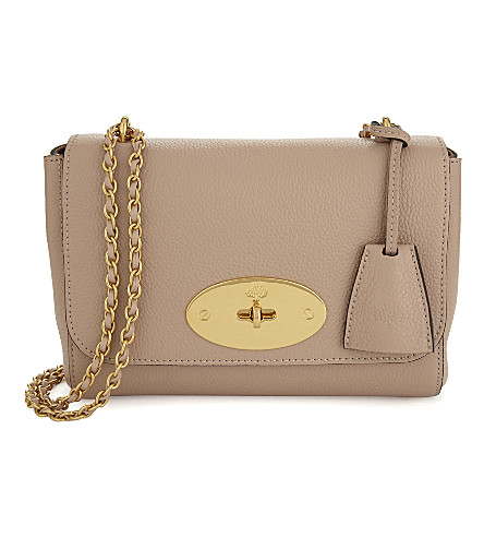 MULBERRY - Lily small grained leather shoulder bag  53d485650ba0f