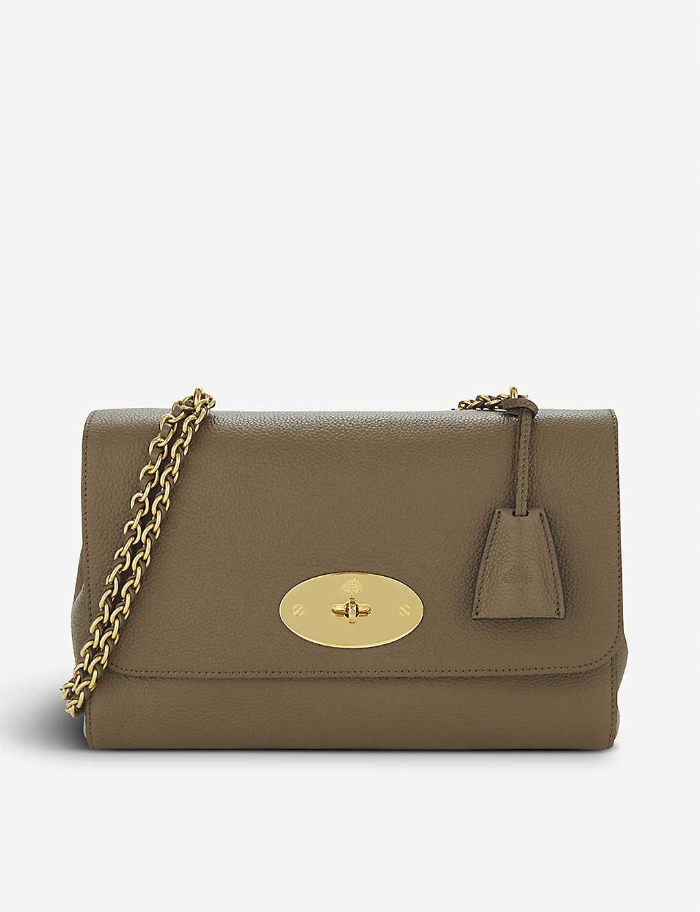 6f3c2ef23c9 MULBERRY - Lily medium grained-leather shoulder bag | Selfridges.com