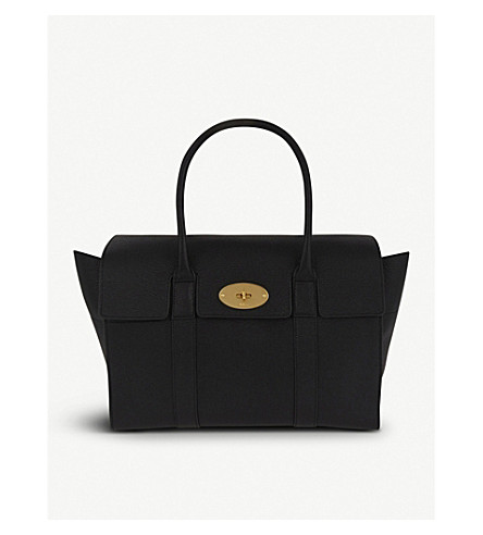 MULBERRY - Bayswater grained leather tote  234f7d6edb31b