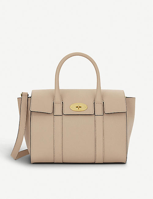 0721dd6600 MULBERRY Bayswater small grained leather tote