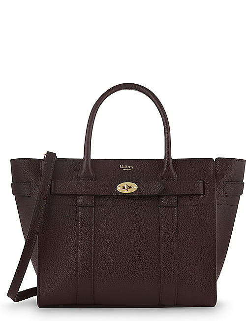 8b413f60c7 MULBERRY Bayswater small grained leather tote