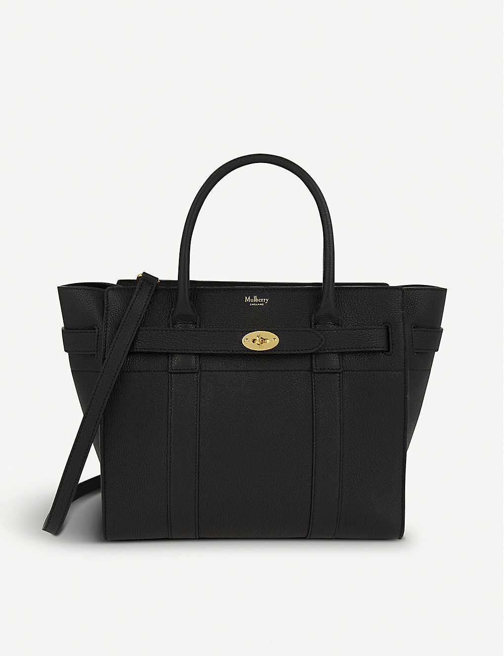 57e36feb27 MULBERRY - Bayswater small grained-leather tote bag | Selfridges.com