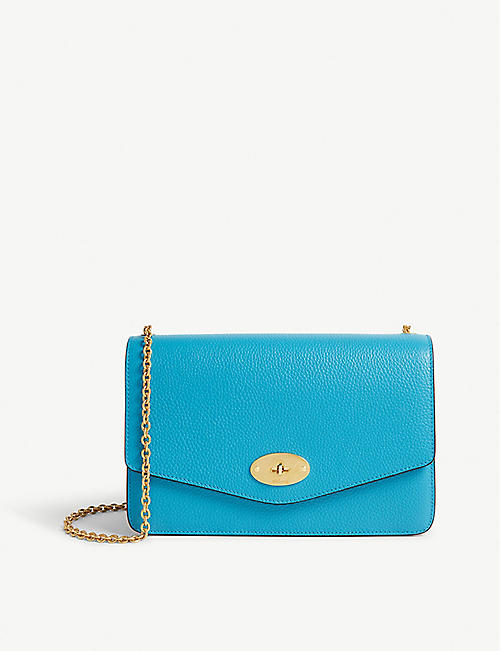 07f824e7fe MULBERRY Darley small leather cross-body clutch