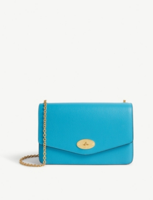 Darley Small Leather Cross Body Clutch by Mulberry