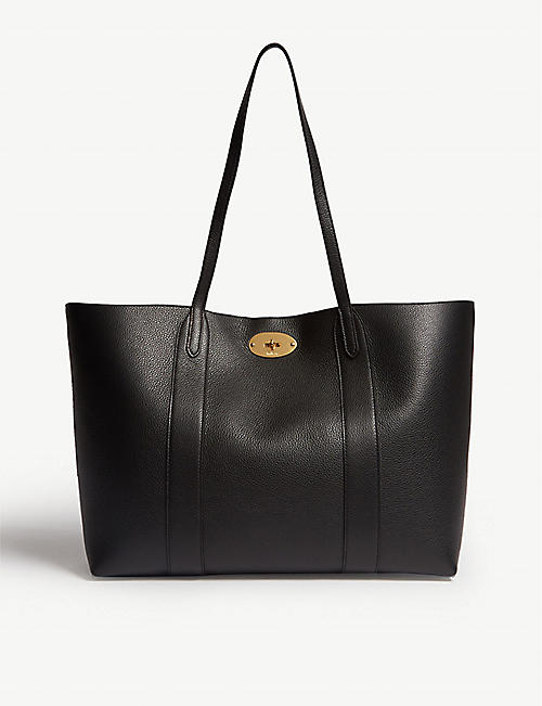 MULBERRY Bayswater grained leather tote 73358055e