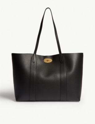 MULBERRY Bayswater grained leather tote
