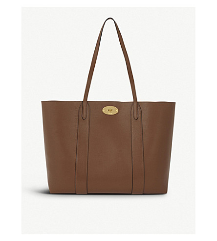 MULBERRY Bayswater leather tote bag (Oak d3d1c68f6677e