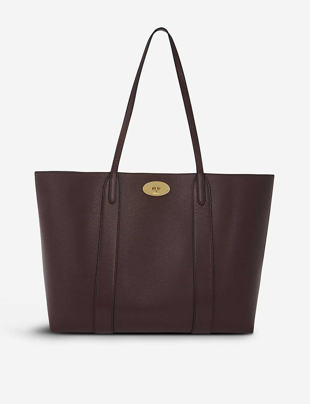 a241a3ad97e6 MULBERRY - Bayswater small grained-leather tote | Selfridges.com