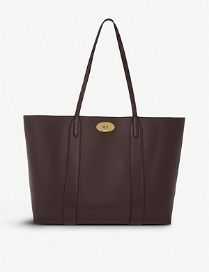 MULBERRY Bayswater small grained-leather tote