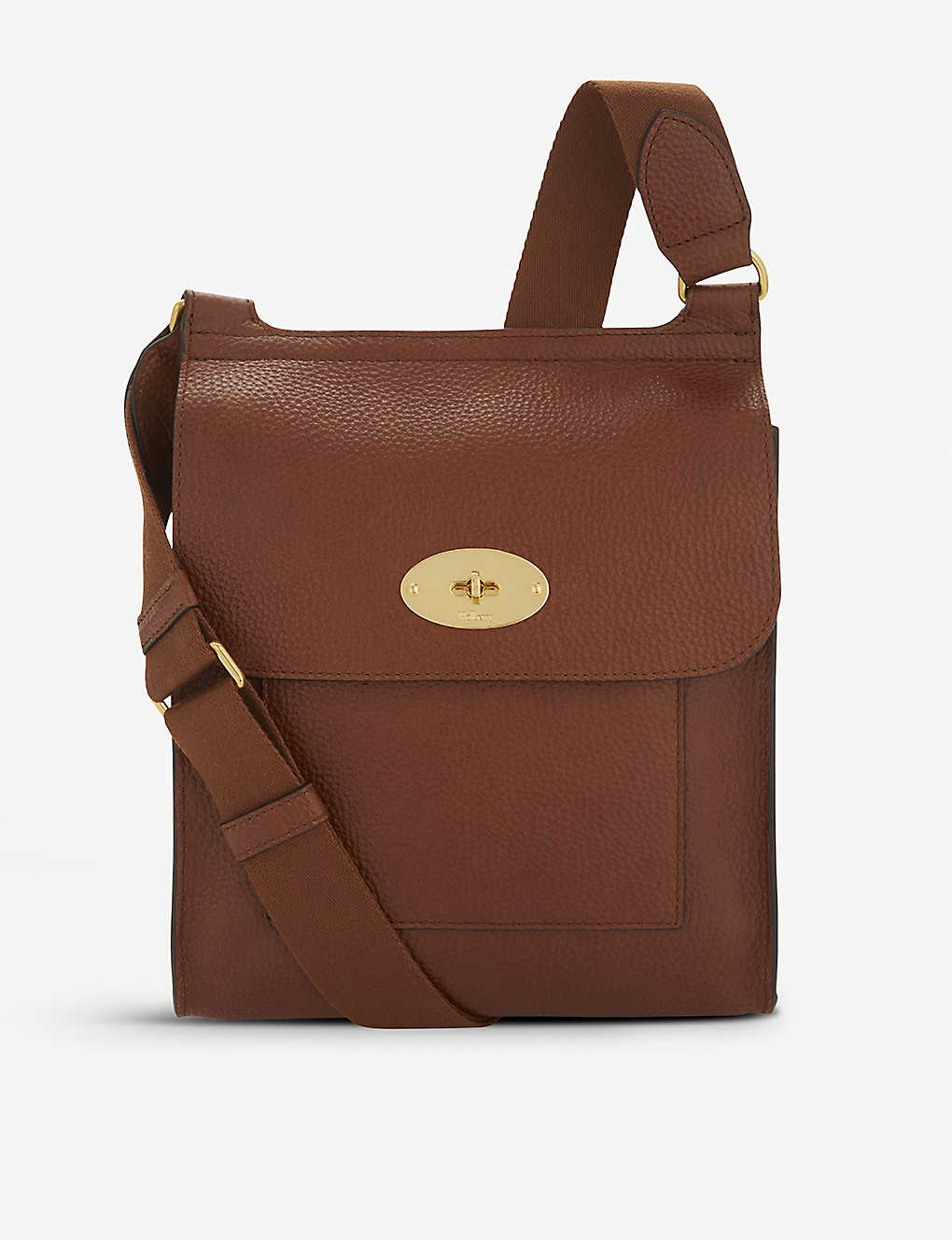 MULBERRY: Antony grained-leather cross-body bag