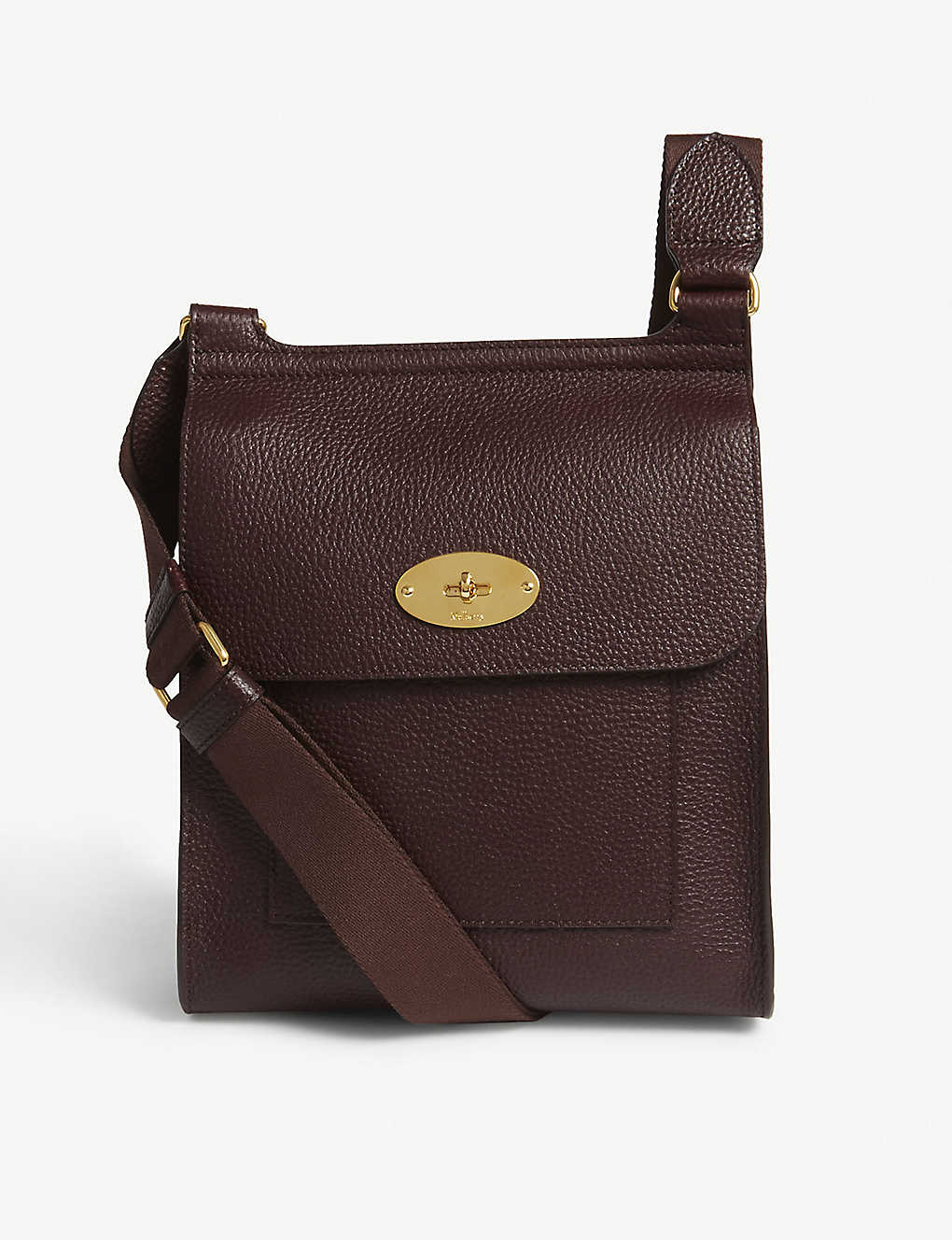 20a307070b MULBERRY - Antony small grained leather messenger bag | Selfridges.com