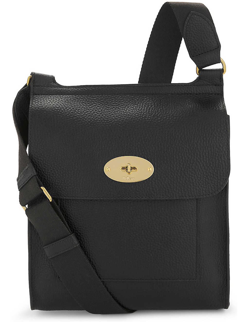 512e6f2f39a MULBERRY - Antony grained leather cross-body bag   Selfridges.com