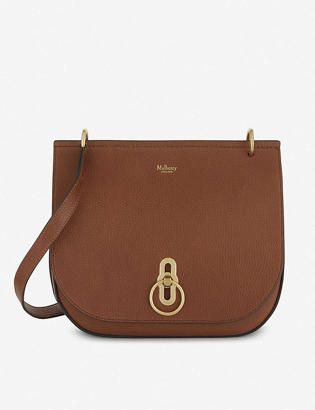 MULBERRY: Amberley grained-leather satchel