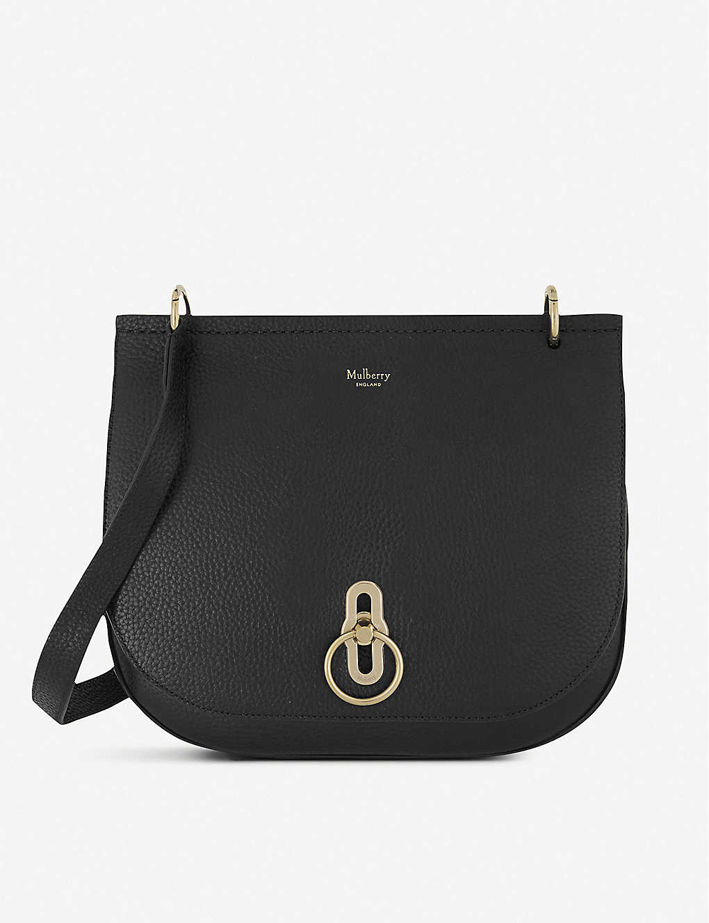 MULBERRY: Amberley grained-leather shoulder bag