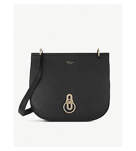 Mulberry AMBERLEY GRAINED-LEATHER SHOULDER BAG